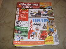 COLLECTIONNEUR CHINEUR 051 02.01.2009 TINTIN & MILOU 6 PAGES LES EVENTAILS