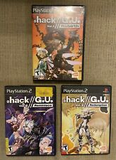 Dot Hack G.U. Vol. 1 2 3 Playstation 2 PS2 Lot Rebirth Reminisce Redemption CIB