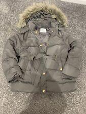 Girls Zara Winter Coat Age 11 To 12