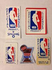 LOT STICKER - ETIQUETTE VINTAGE BASKETBALL NBA