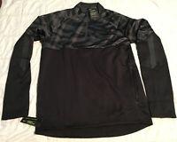 NIKE Therma Shield Strike Soccer Drill Top BQ5828-010 Black (MEN'S LARGE) L