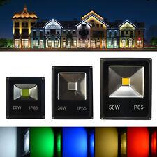LED Flutlicht Fluter Strahler SMD Scheinwerfer 10W 20W 30W 50W 70W RGB IP65 DE