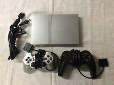 Sony Playstation 2 Super Slim  ... komplett mit 10 Spiele Und mehr