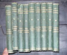 lot of 9 : John Stoddard's Lectures 1905 hardcovers (missing volume 9)