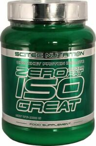 Zero Sugar Zero Fat Isogreat Scitec 900 g Eur42.11/kg