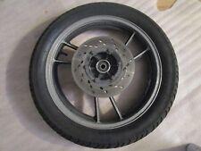 SUZUKI GSX 550 GN71D Felge hinten Hinterrad 2,15 x 18 Zoll + Bremsscheibe