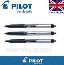 Pilot Hi-Tecpoint V5 RT Tinta Líquida Retráctil Bolígrafo Negro Pen Set 3