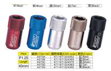 Gd Unidad Interna Llave Hexagonal Aluminio M12 X 1.25 Sintonizador Tuercas De Rueda Rojo X20 z1113