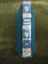 GEOGRAPHIE DE L'ABBE GAULTIER 14 e ed. Belgique 1850 in 16 relié mi maroquin