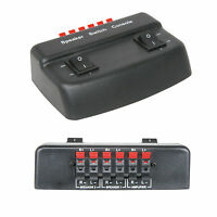 2 Port/Zone Stereo Speaker Selector Splitter Switch -100w Audio Distribution Box