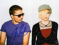 The Ting Tings Jules De Martino Signed 8X10 Picture