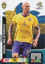 DANIEL MAJSTOROVIC # SWEDEN SVERIGE CARD PANINI ADRENALYN EURO 2012