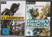 Ghost Recon Advanced Warfighter Shooter + Operation Flashpoint Dragon Rising PC