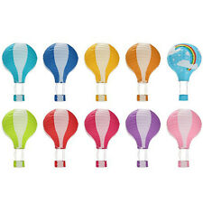 12 inch 30cm Rainbow Wedding Chinese Paper Lantern Birthday Air Balloon Hot