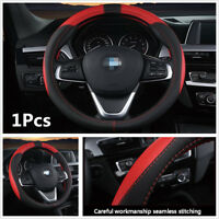 Generous Fashion 38cm High Quality PU Leather Car Steering Wheel Protector Cover