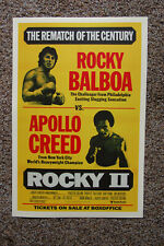 Rocky Movie poster Lobby Part 2 #1 Sylvester Stallone Burgess Meredith