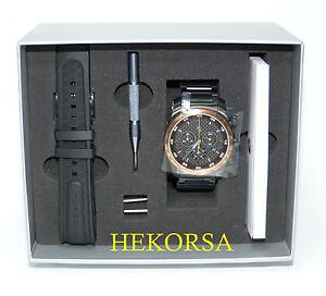 PORSCHE Sport Chrono Chronograph 911 Collection LE mit Wechselarmband Uhr watch