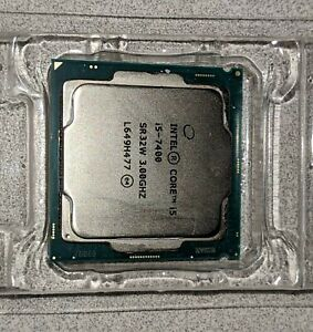 7th Generation Intel Core i5-7400 CPU Quad Core 6MB Cache Up To 3.5 GHz