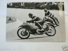 ENRICO LORENZETTI GUZZI & FERGUS ANDERSON 1952-1954 VINTAGE POSTCARD MOTO 03-02