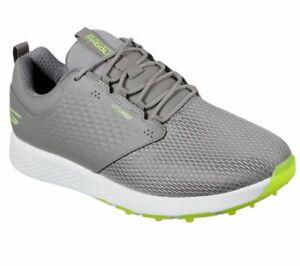 Skechers GO GOLF Elite V.4 Prestige RF Golf Shoes Mens Grey 54553 - New 2021