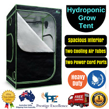 Hydroponic Grow Tent with Aluminum Interior Green House Garden - 120X120X200cm