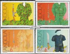 Angola 842A-845A (compleet Kwestie) MNH 1991 Vrijheidsstrijd