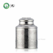 Small Stainless Steel Canister Caddy Loose Tea Container With Singel Lid 300ml