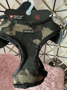 PUPPIA Camo Soft harness XL puppy puppies dog dogs Luxury Fur Lined Winter New