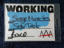 STAR TREK - THE ADVENTURE, Hyde Park Exhibition,London, Dec 2002, Backstage Pass