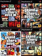 Multi-Listing Grand Theft Auto PlayStation images retro metal plaques poster GTA