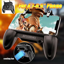 PUBG Mobile Phone Gamepad Game Controller SR Joystick Cooling Fan iPhone Android