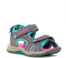 Little Girls Merrells Size 10M Sport Shoes Pink Gray Nordstroms $45