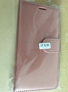 I-PHONE CASE~~ROSE GOLD ~~FOR APPLE  I-PHONE X/XS~~NEW