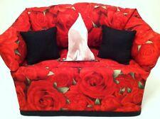 Bed Of Roses Tissue Box Cover Handmade