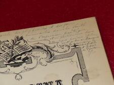 PARTITION 19e PIANO-CHANT CHARLES GOUNOD BIONDINA Envoi signé !!  63pp. 7480-91H
