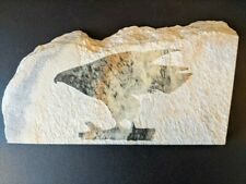 Miles Metzger - Falcon Relief On Granite - Signed/Dated 1990