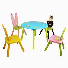 Charles Bentley Enfants Ensemble Table et Chaise - Meubles 5 Pièces Pour Animaux