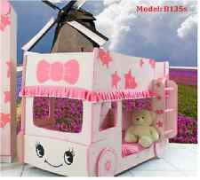 brand new Pink BUNK BED single size BUS bed accommodates two single mattresses