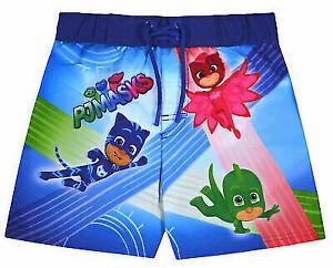 Boys PJ Mask Swimming Shorts Kids Swimming Trunks Pool Beach Holidays Shorts