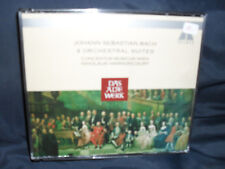 J.S. Bach – 4 Orchestral Suites Concentus Musicus Wien / Harnoncourt -2CD-Box