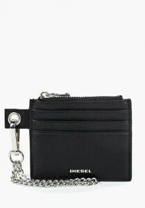 Diesel Mens Carly LC X06249 Card Holder Black