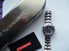Seltener original Swiss Made Victorinox Racer ETA Chronograph,Sapphire Glas,TOP