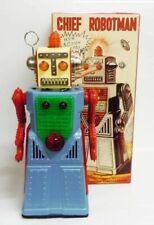 Robot - Robot Marcheur à Pile en Tôle - Chief Robotman (Ha Ha Toys) TR2053