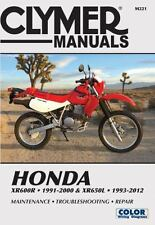 Honda Xr600r 1991-2000 & Xr650l 1993-2012: This Manual Does Not Cover Xr650r Mod
