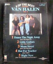 Van Halen 5 Greatest Hits Sheet Music Book guitar tablature