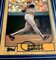 RARE BARRY BONDS 1987 Topps RC INK ERROR+ #320 ERROR Pirates FRESH RAK-PAK PULL
