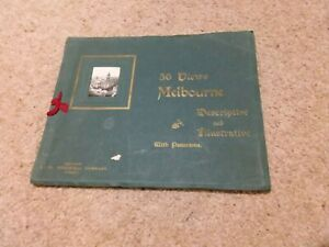 36 Decorative and Illustrative Views of Melbourne Early 1900's