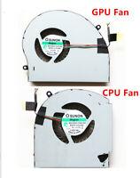 NEW CPU Fan + GPU Fan Cooling Cooler 2 Fans For Dell Alienware 17 R4 17 R5 P31E
