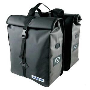 AZUR metro bicycle bike pannier bag set
