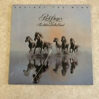 Bob Seger & The Silver Bullet Band Against the Wind Vinyl LP Record 1st Edition